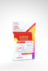 Matte Board Game Sleeves: Catan (50) (Red)