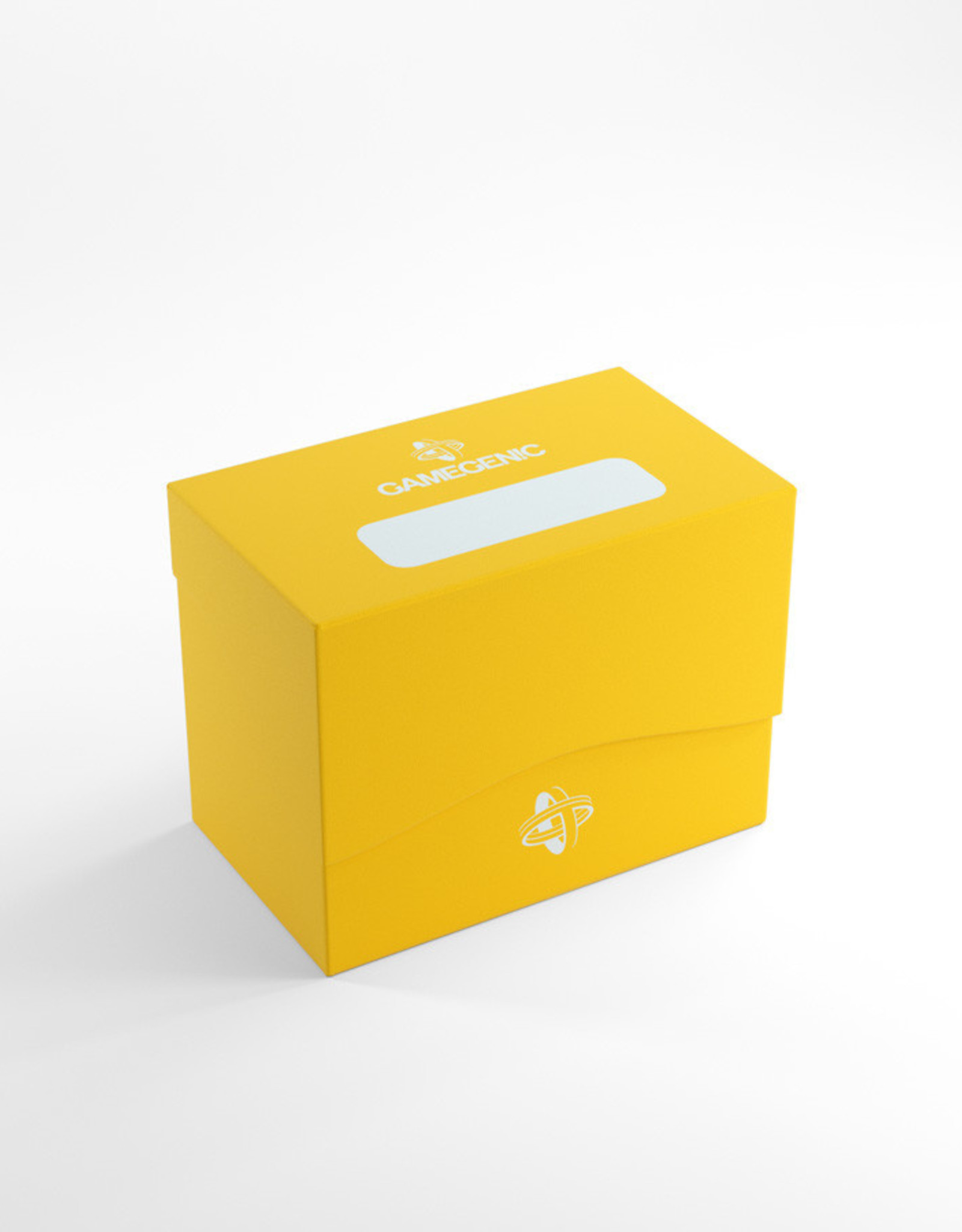 Deck Box: Side Holder 80+ Yellow