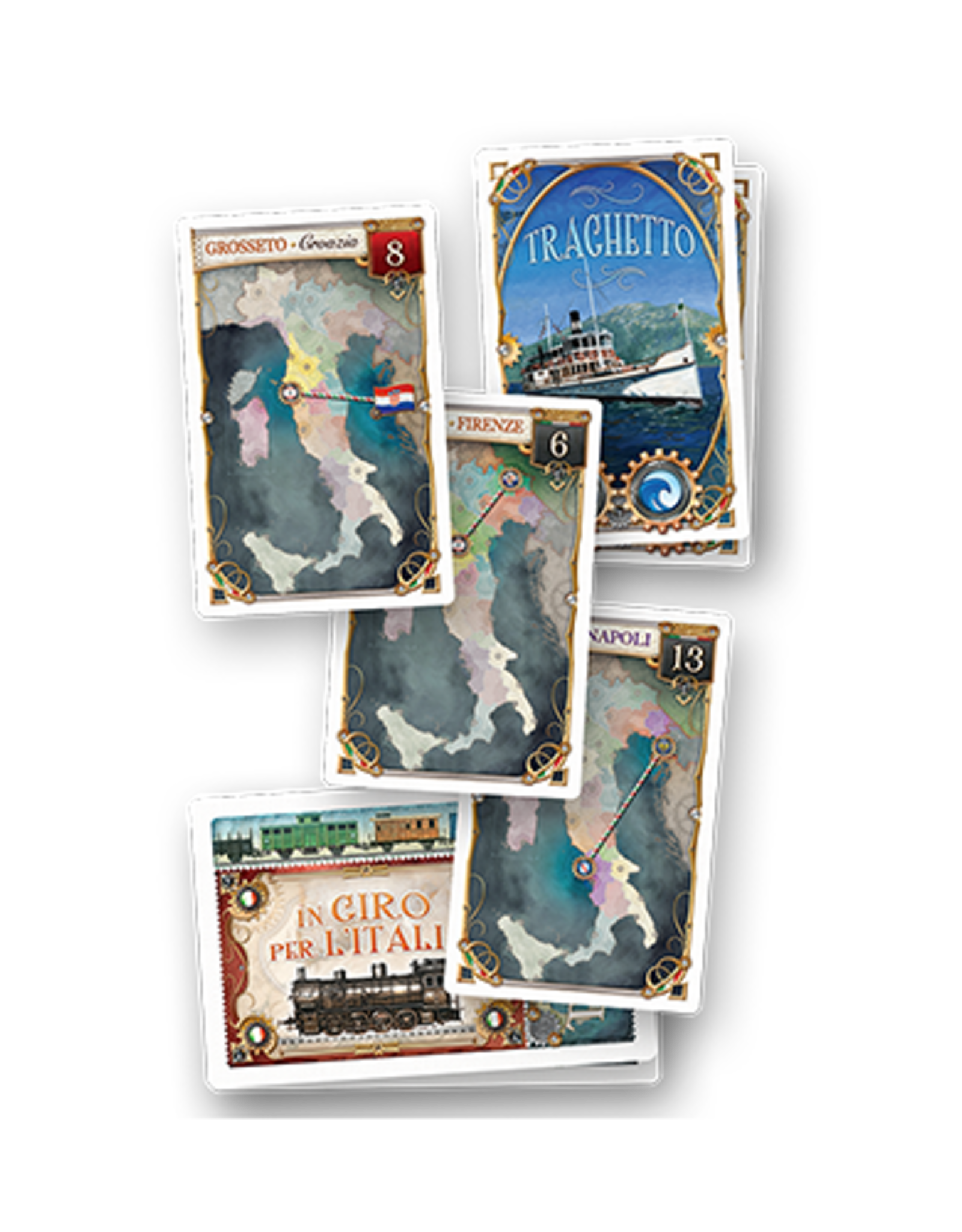 Ticket To Ride Expansion 7 Japan and Italy