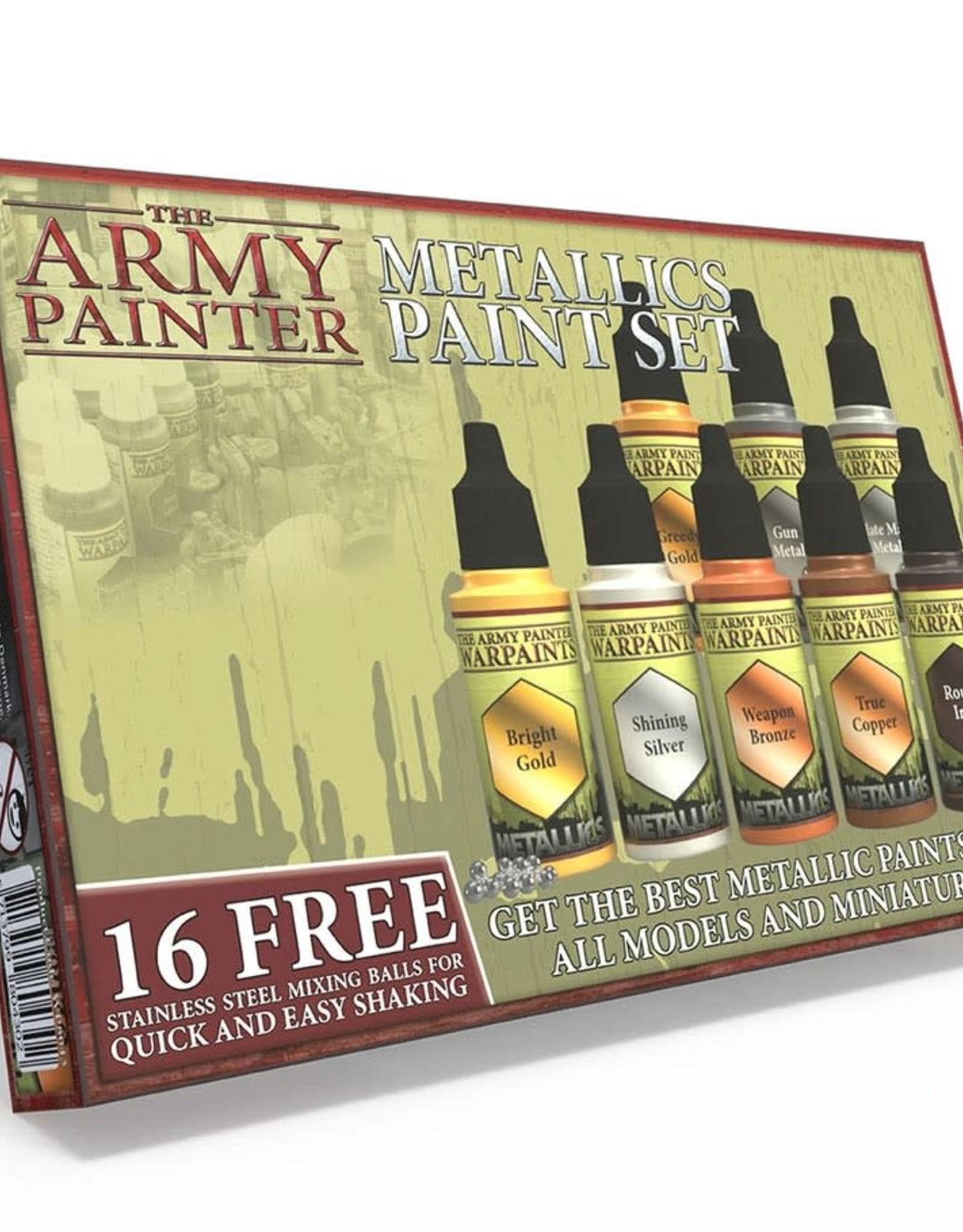 Warpaints: Metallics Paint Set