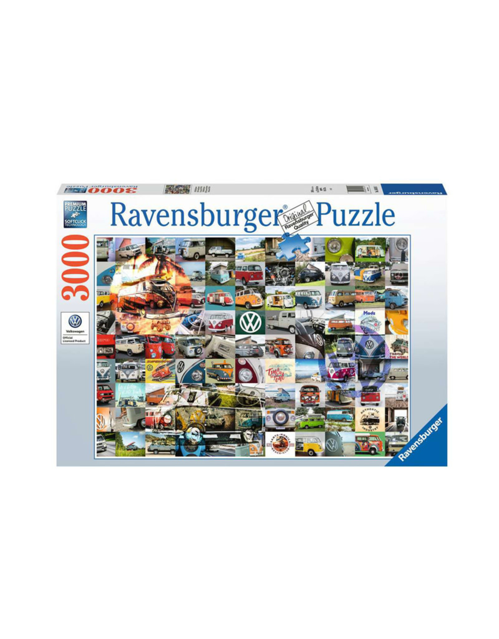 Ravensburger 99 VW Campervan Moments 3000 PCS