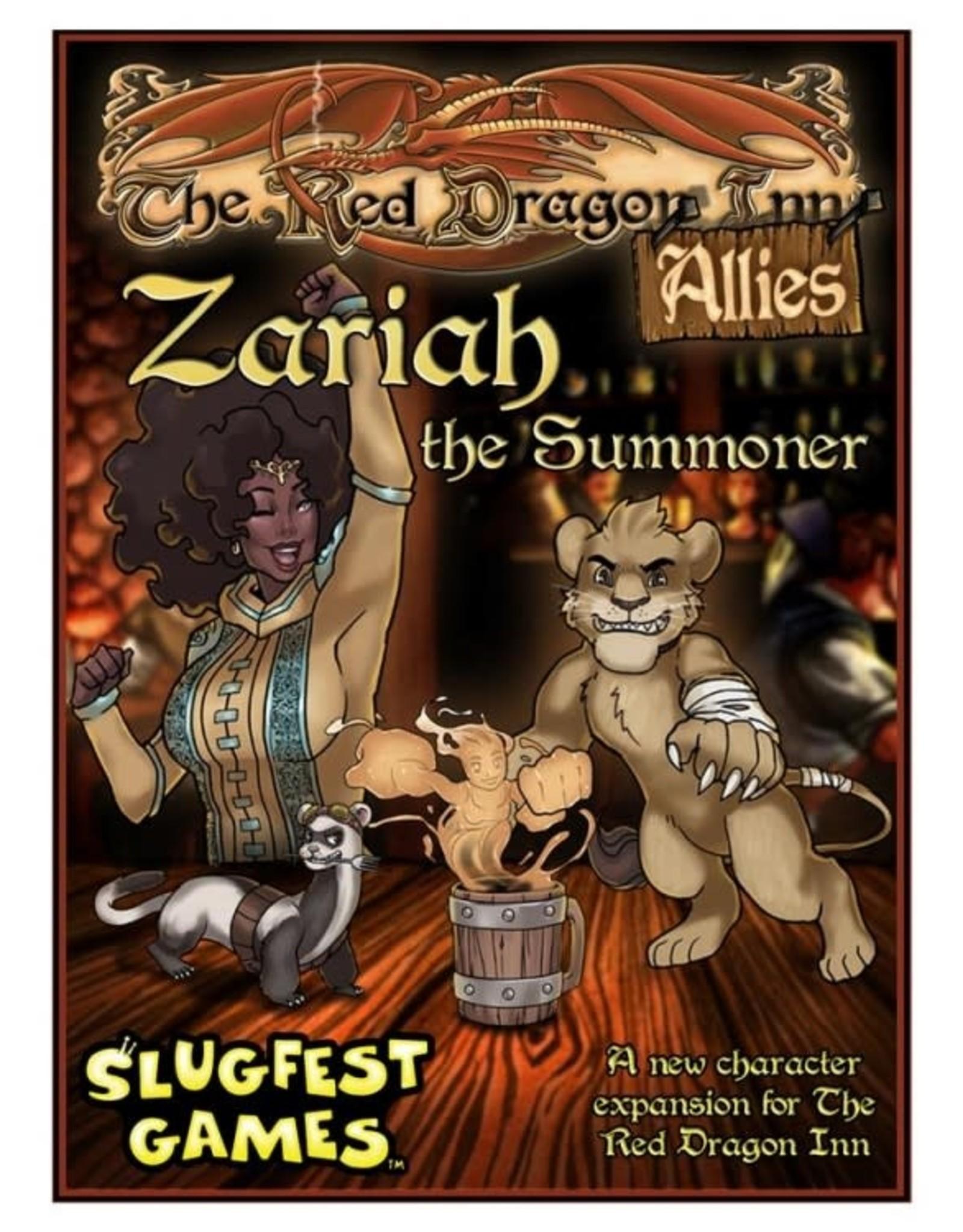 Slugfest Games Red Dragon Inn Allies: Zariah the Summoner Expansion