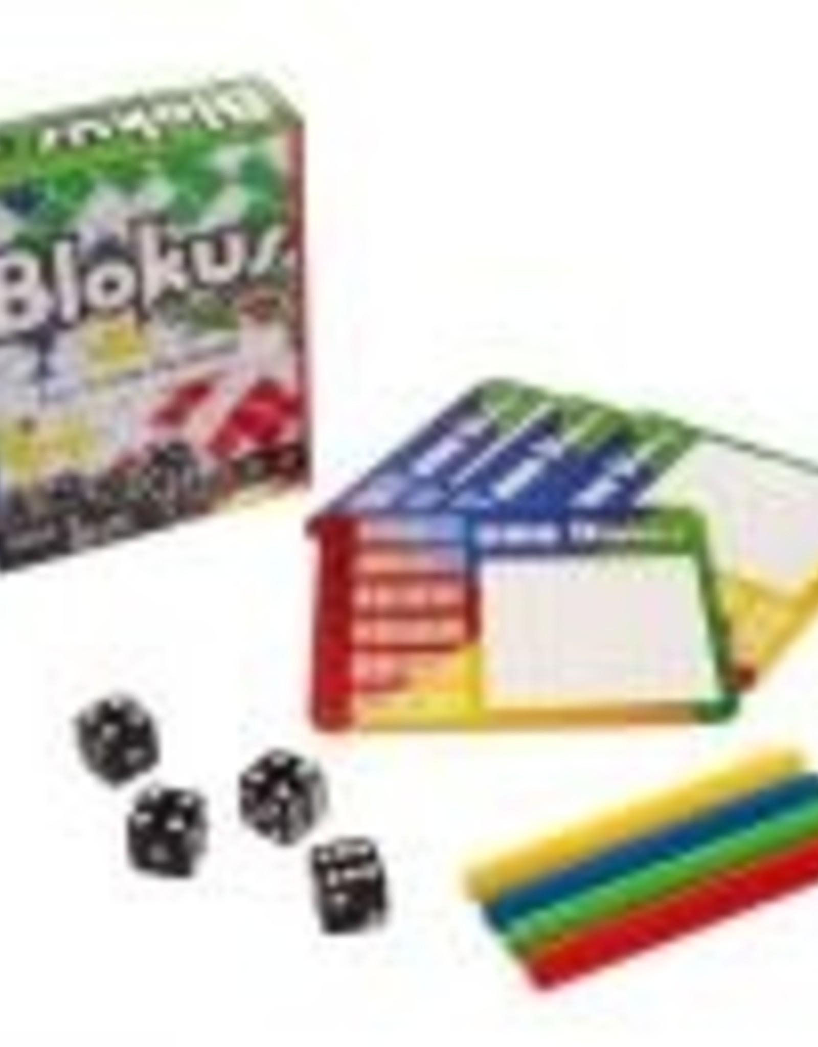 Mattel Blokus: Roll & Write Dice Game