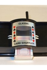 Worldwise Imports Card Shuffler: Manual 2 Decks Capacity (4 C Batteries Not Included)