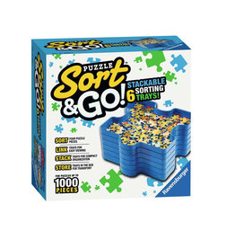 Ravensburger Puzzle Sort & Go (6 Sorting Trays)