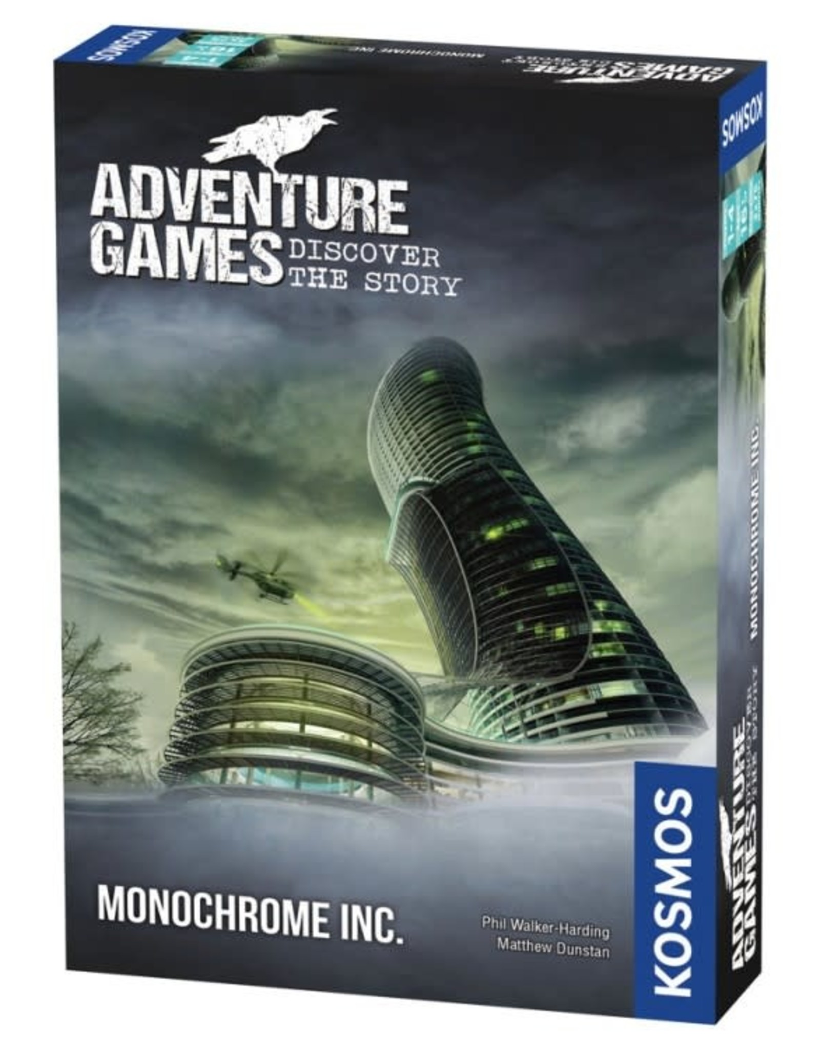 Thames and Kosmos Adventure Games: Monochrome Inc.
