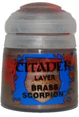 Games Workshop Layer Paint: Brass Scorpion (12ml)