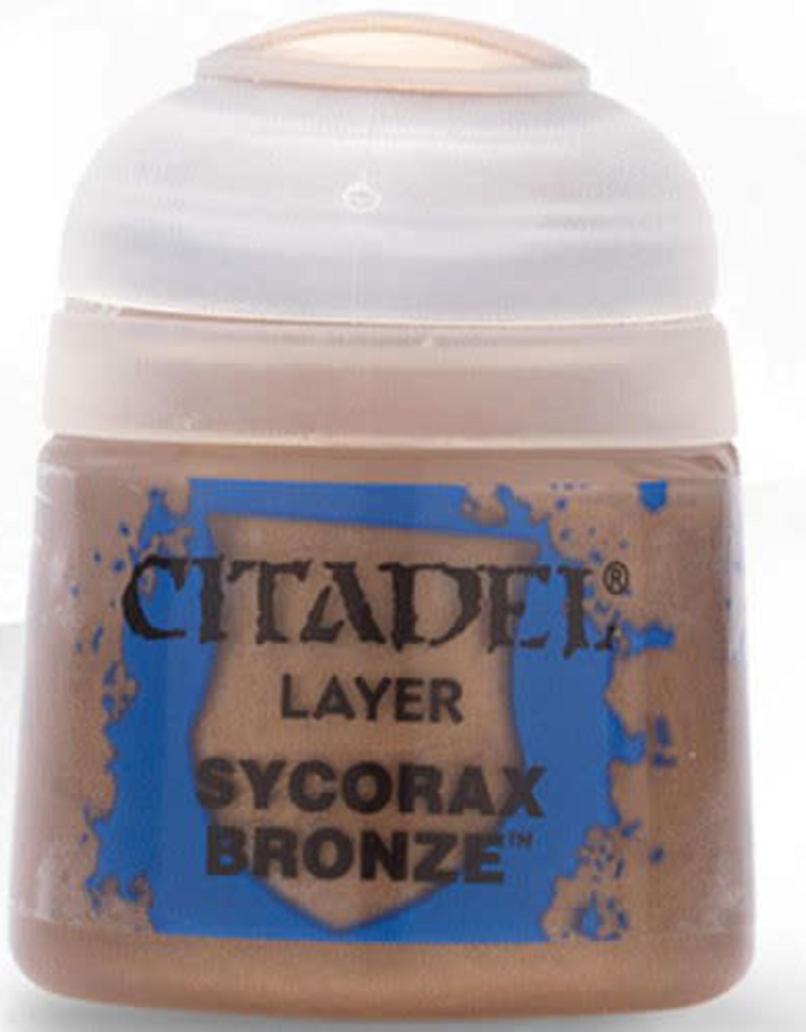 Citadel Layer Paint: Sycorax Bronze (12ml)