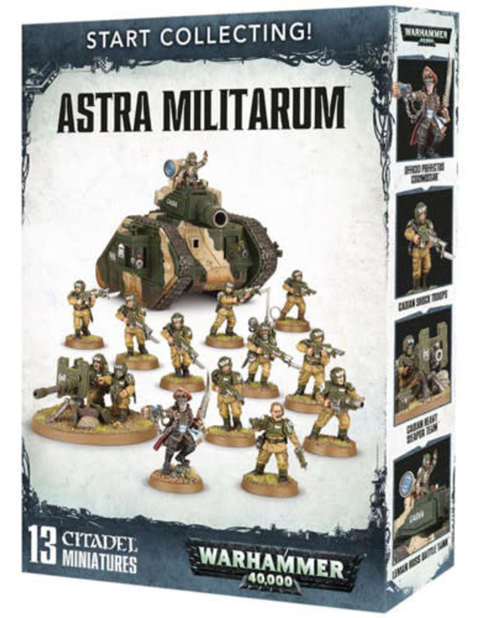 Games Workshop Warhammer 40K Start Collecting! Astra Militarum