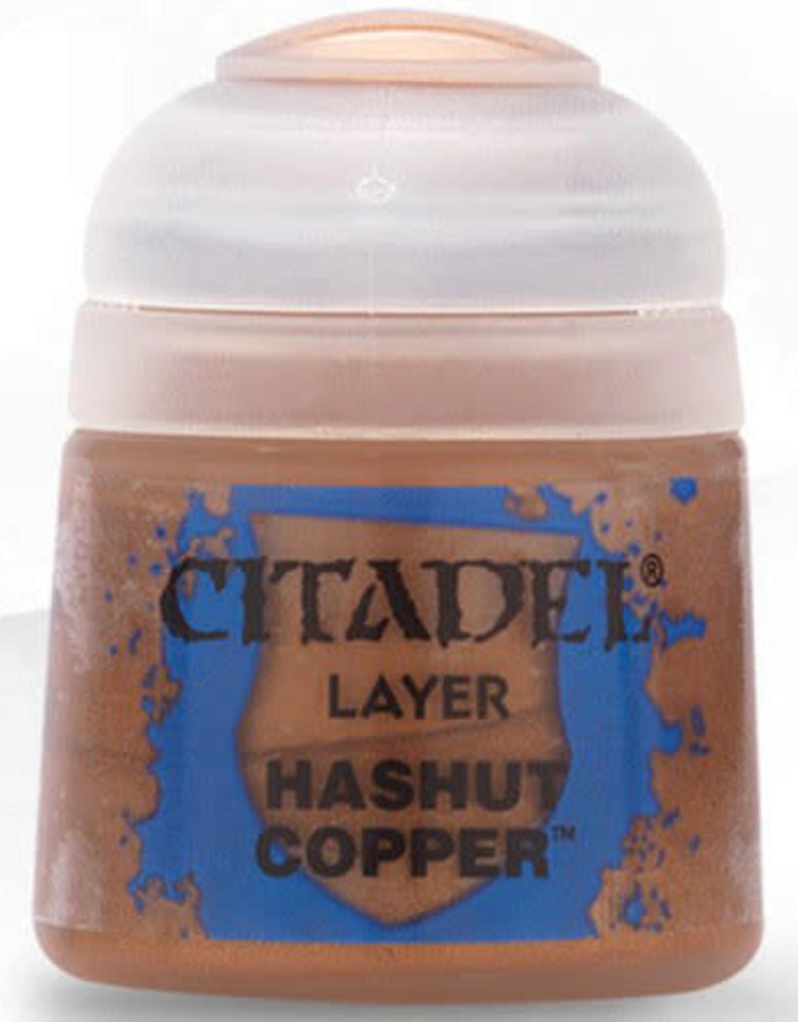 Citadel Layer Paint: Hashut Copper (12ml)