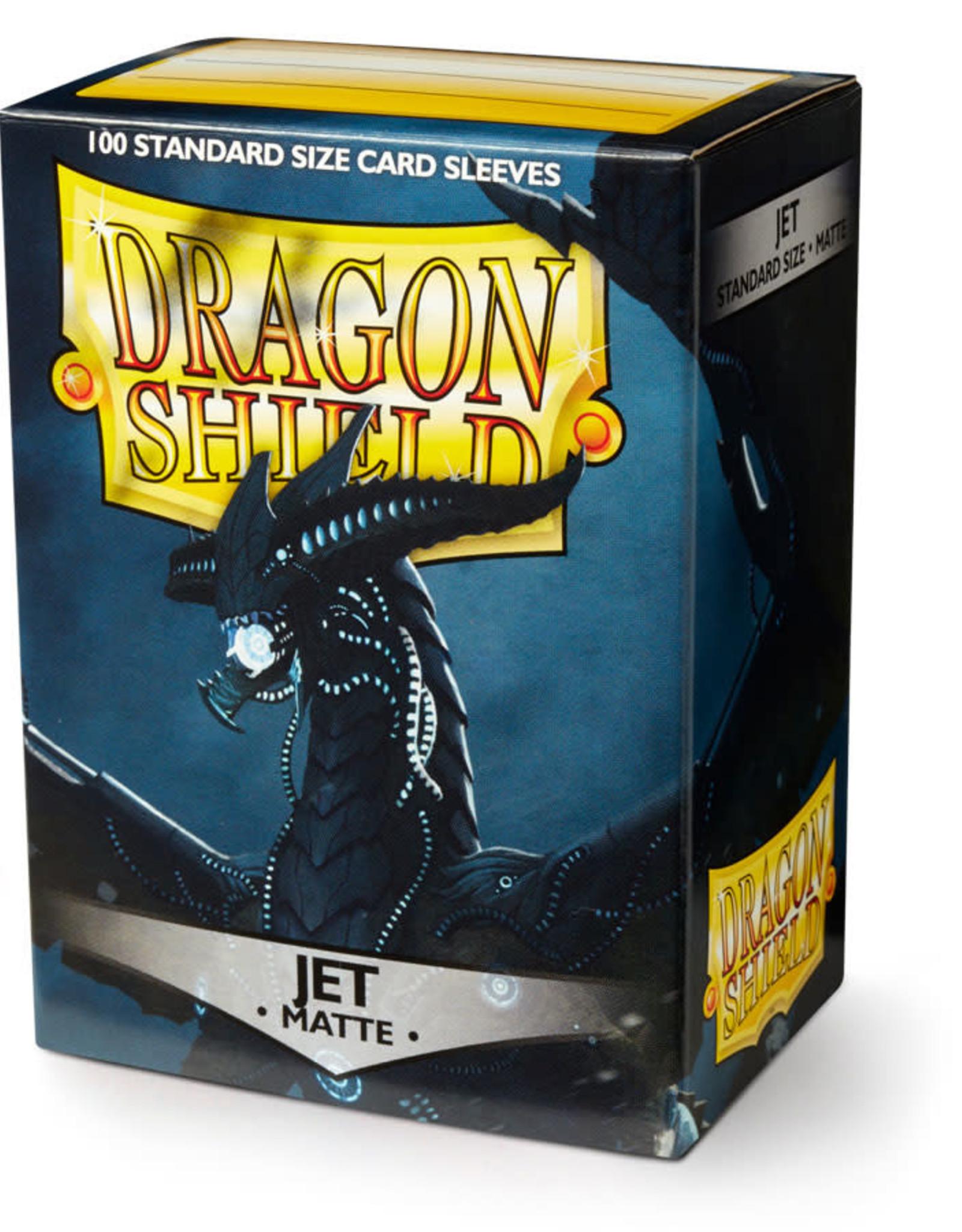 Arcane Tinmen Deck Protectors: Dragon Shields Matte (100) Jet