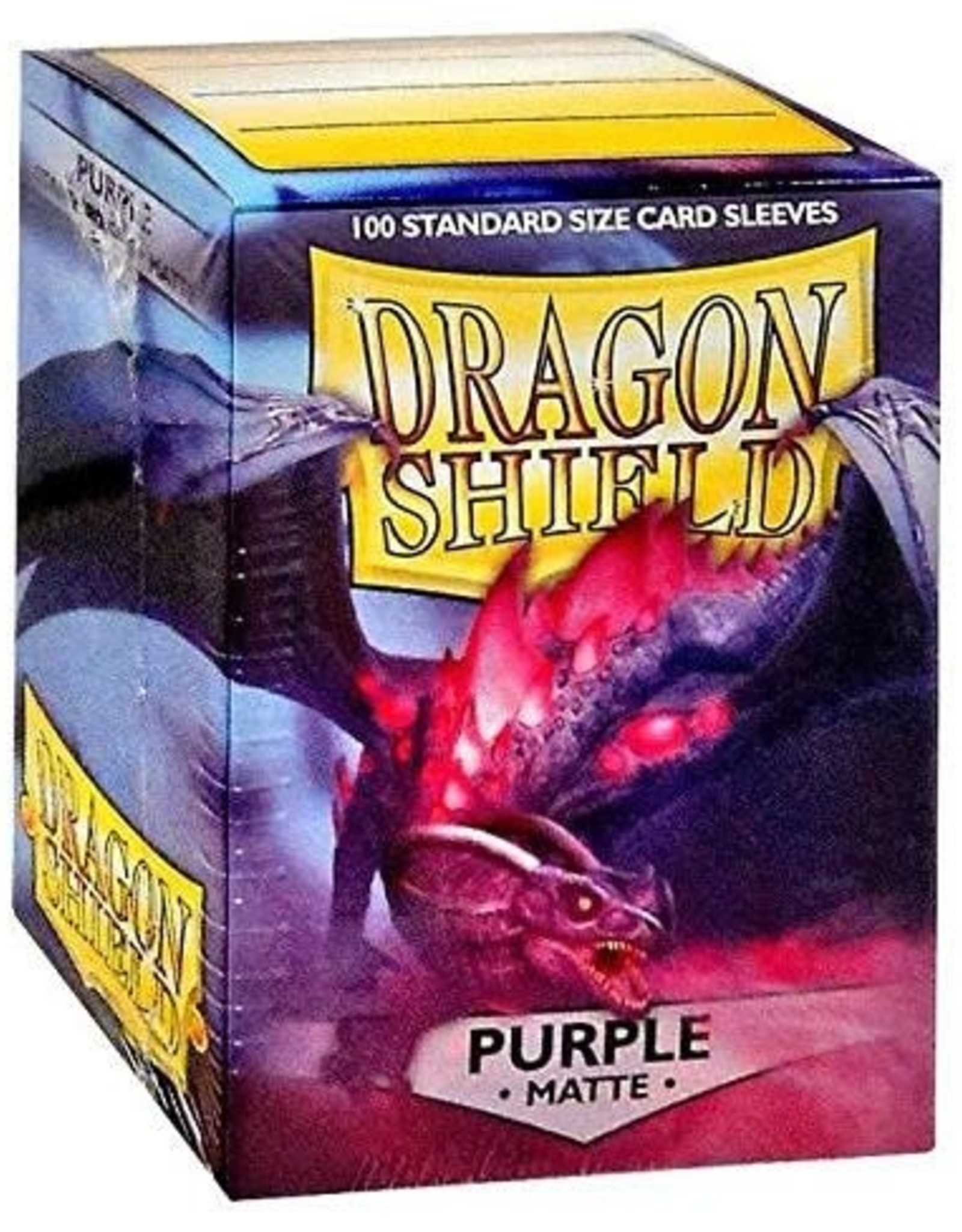 Arcane Tinmen Deck Protectors: Dragon Shield Matte (100) Purple