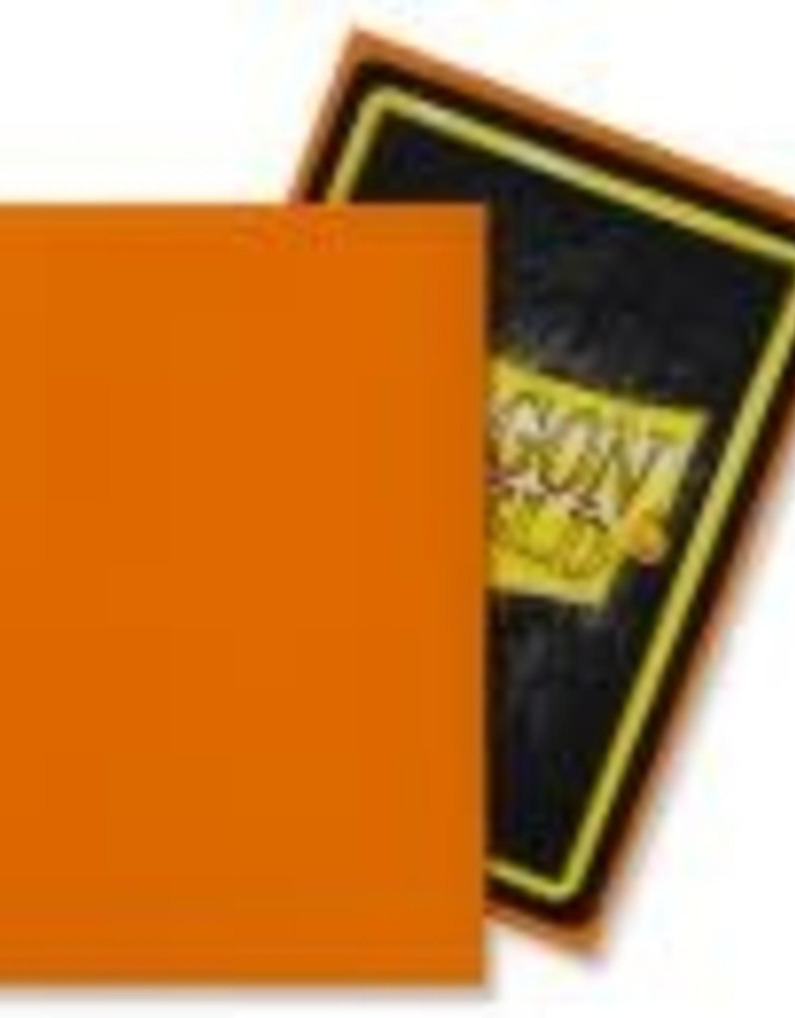 Arcane Tinmen Sleeves: Dragon Shield Matte (100) Orange