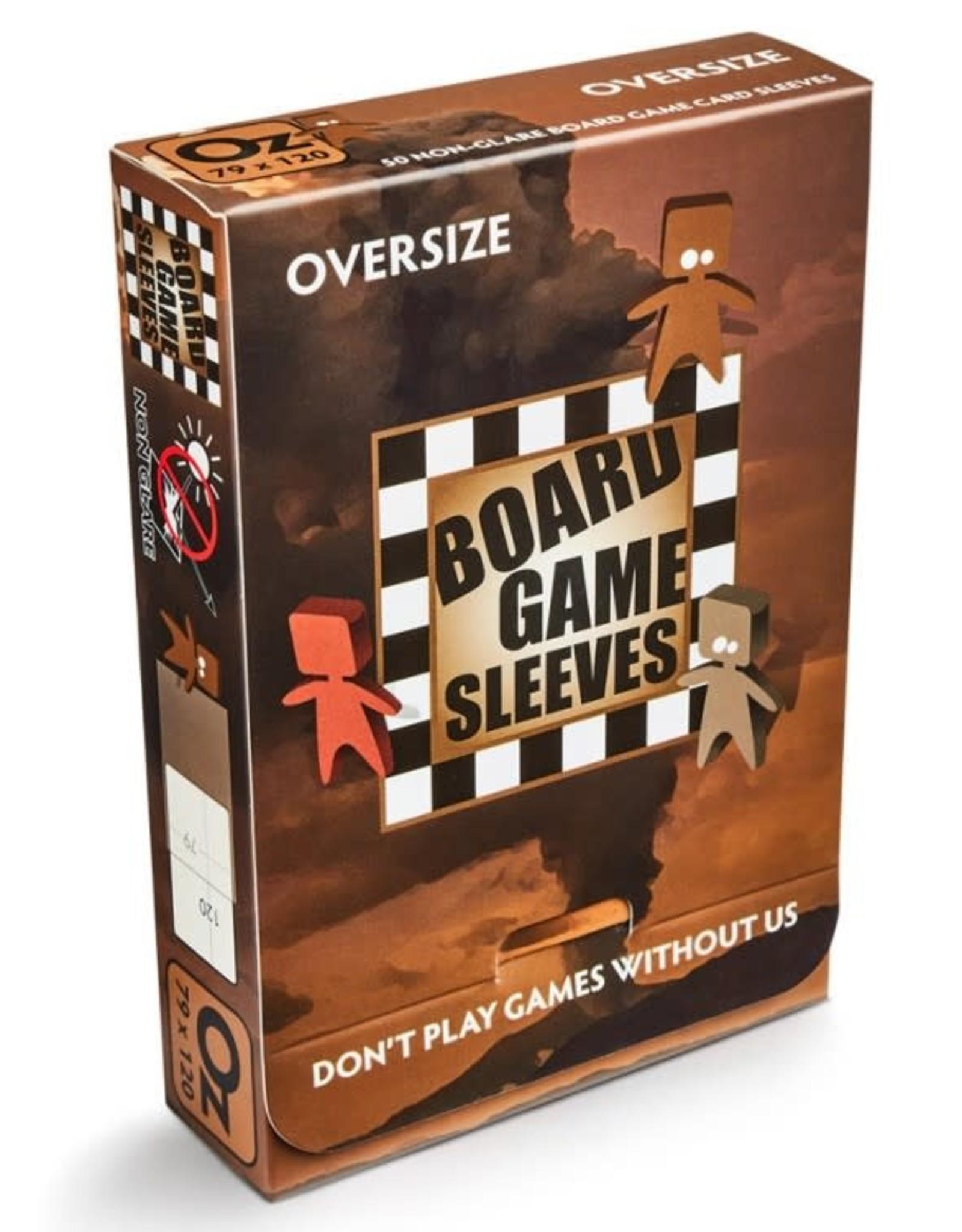 Arcane Tinmen Sleeves: No Glare Oversize Board Game Sleeves (50)