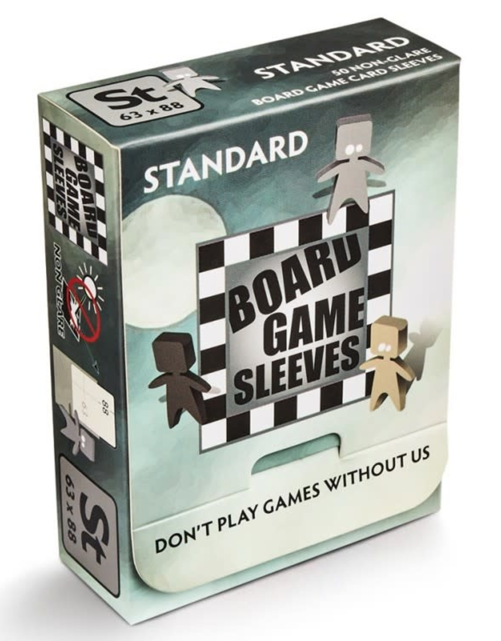 Arcane Tinmen No Glare Standard Board Game Sleeves (63x88mm) (50)