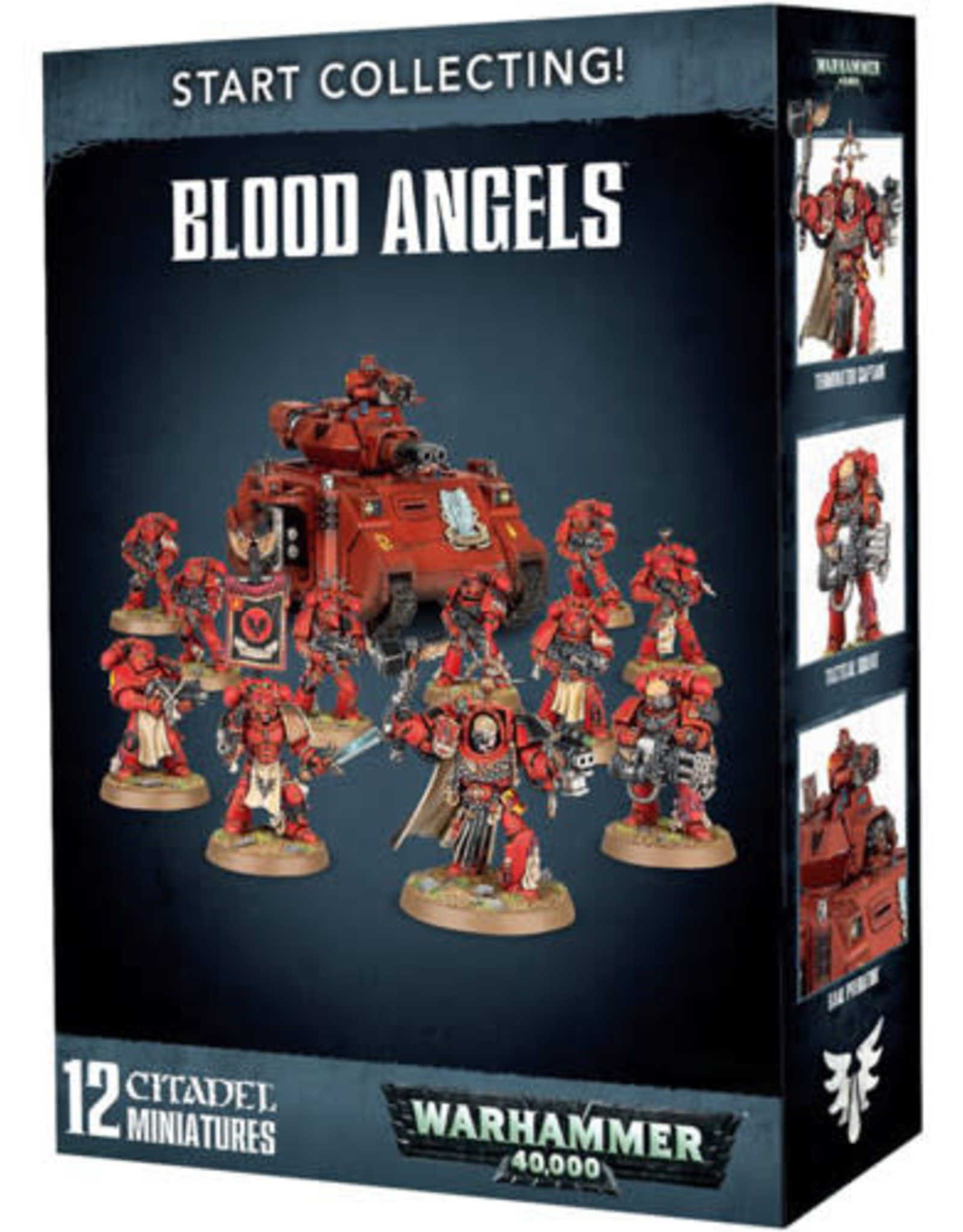 Games Workshop Warhammer 40K Start Collecting! Blood Angels
