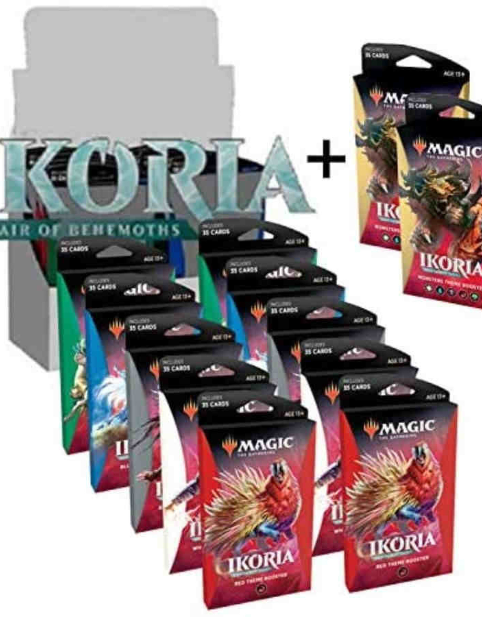 Wizards of the Coast MTG Ikoria: Lair of Behemoths Theme Booster Display (12)