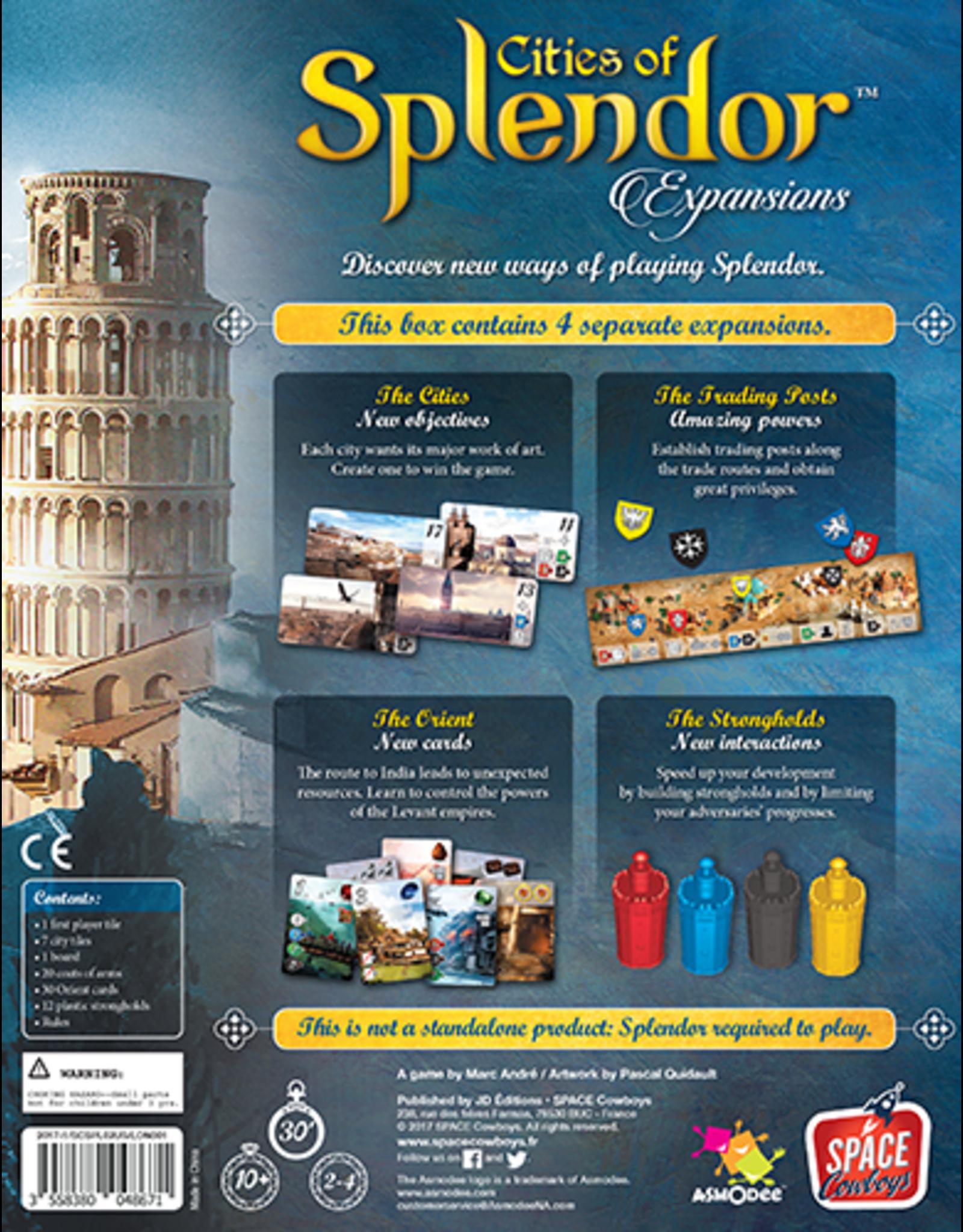 Splendor Cities of Splendor Expansion