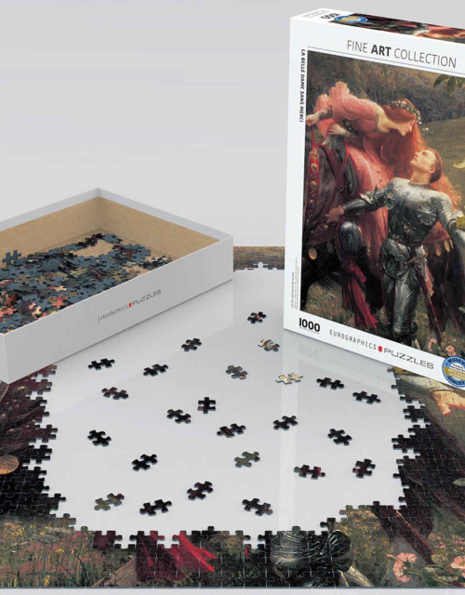 Eurographics La Belle Dame Sans Merci Puzzle 1000 PCS