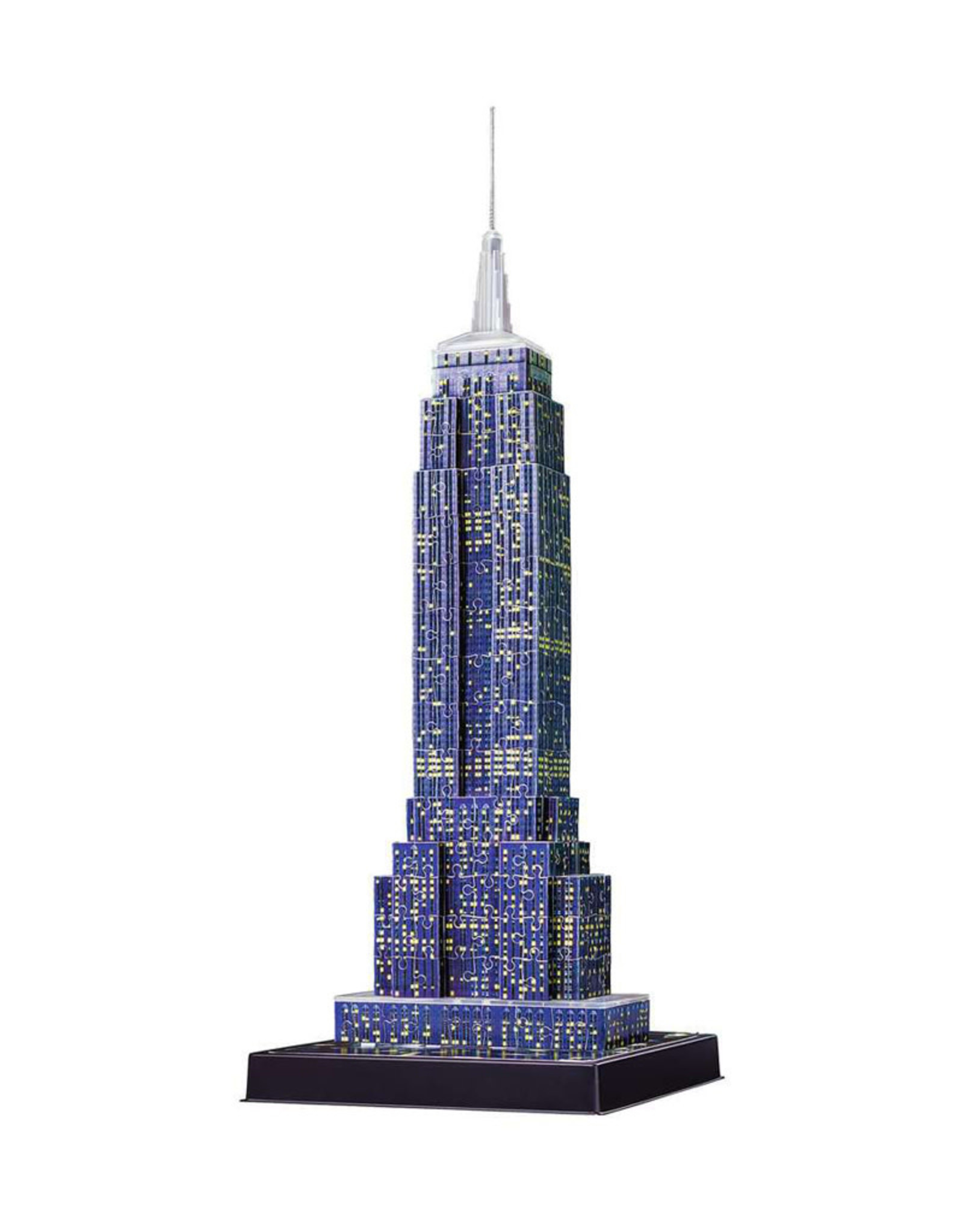 Ravensburger Empire State Building at Night 3D Puzzle 228 PCS