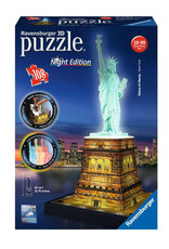 Ravensburger Statue of Liberty at Night 3D Puzzle 108 PCS