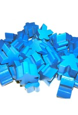 Apostrophe Games Wooden Meeples (50) Blue