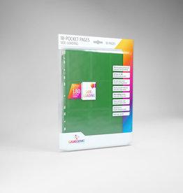 18-Pocket Pages: Side-Loading (10) Green
