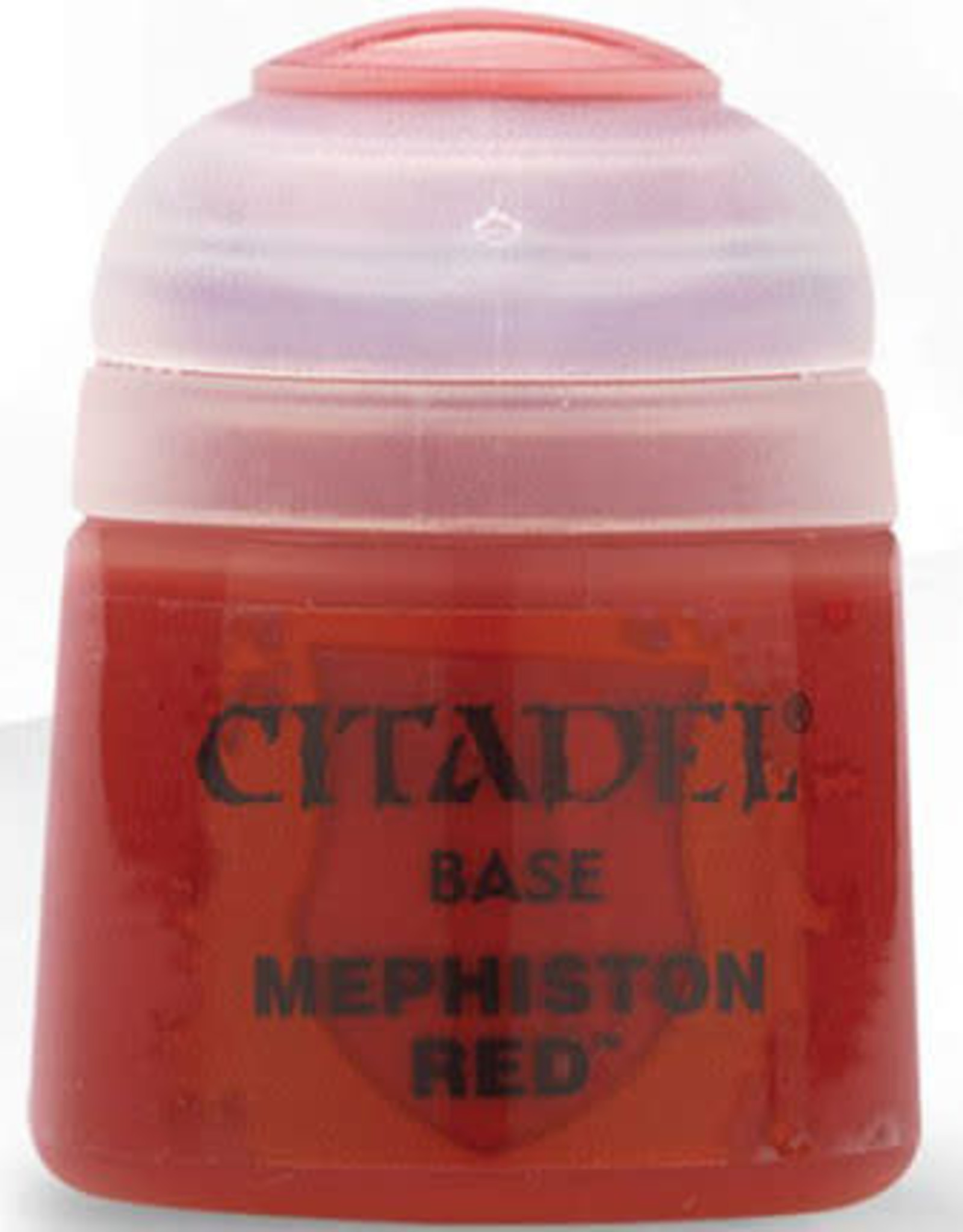 Citadel Base Paint: Mephiston Red