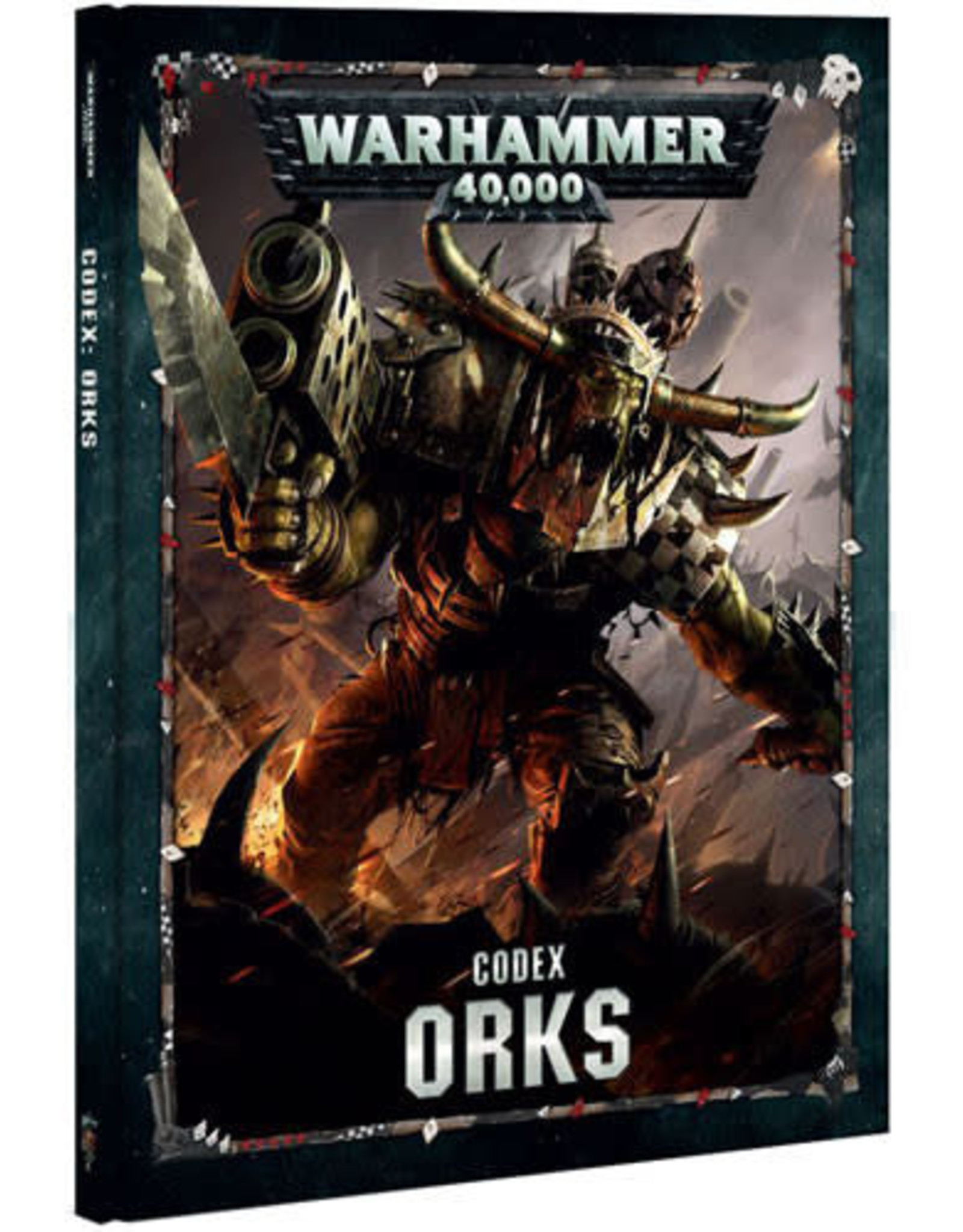 Games Workshop Warhammer 40K Codex Orks (8th Edition)
