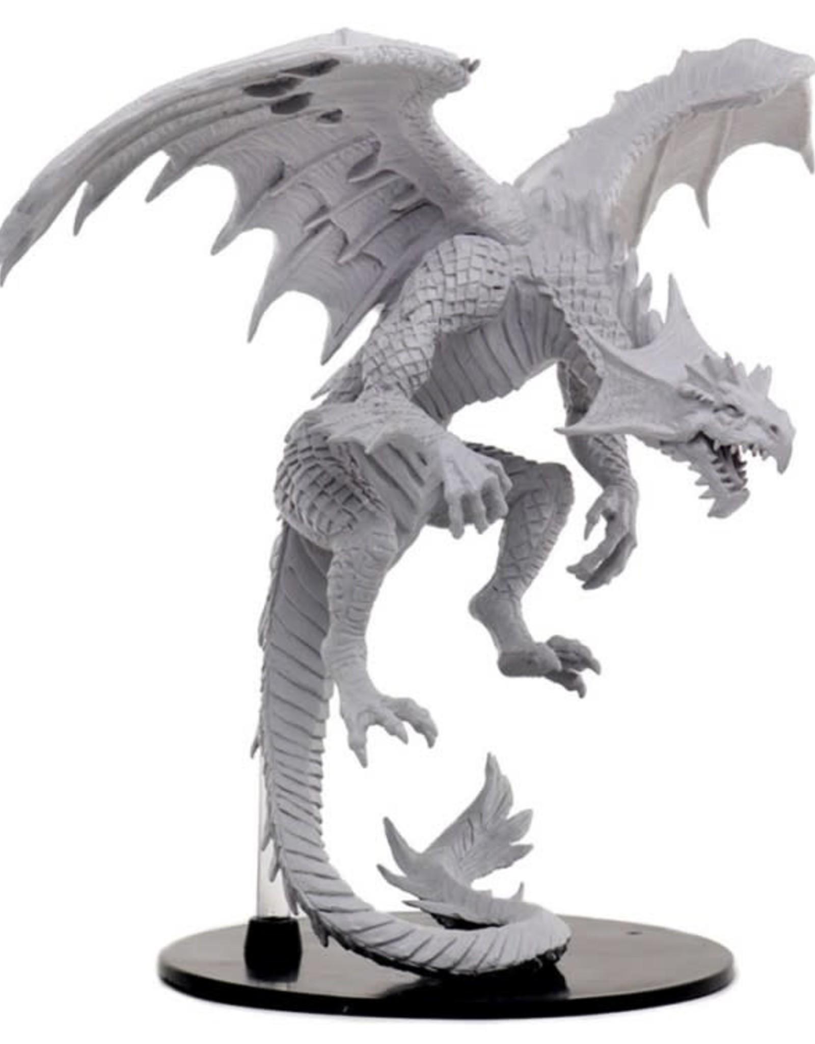 Wizkids Pathfinder Unpainted Minis: Gargantuan White Dragon