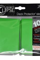 Deck Protectors: Pro-Matte Eclipse (100) Lime Green