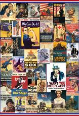 Eurographics World War I & II Vintage 1000 PCS