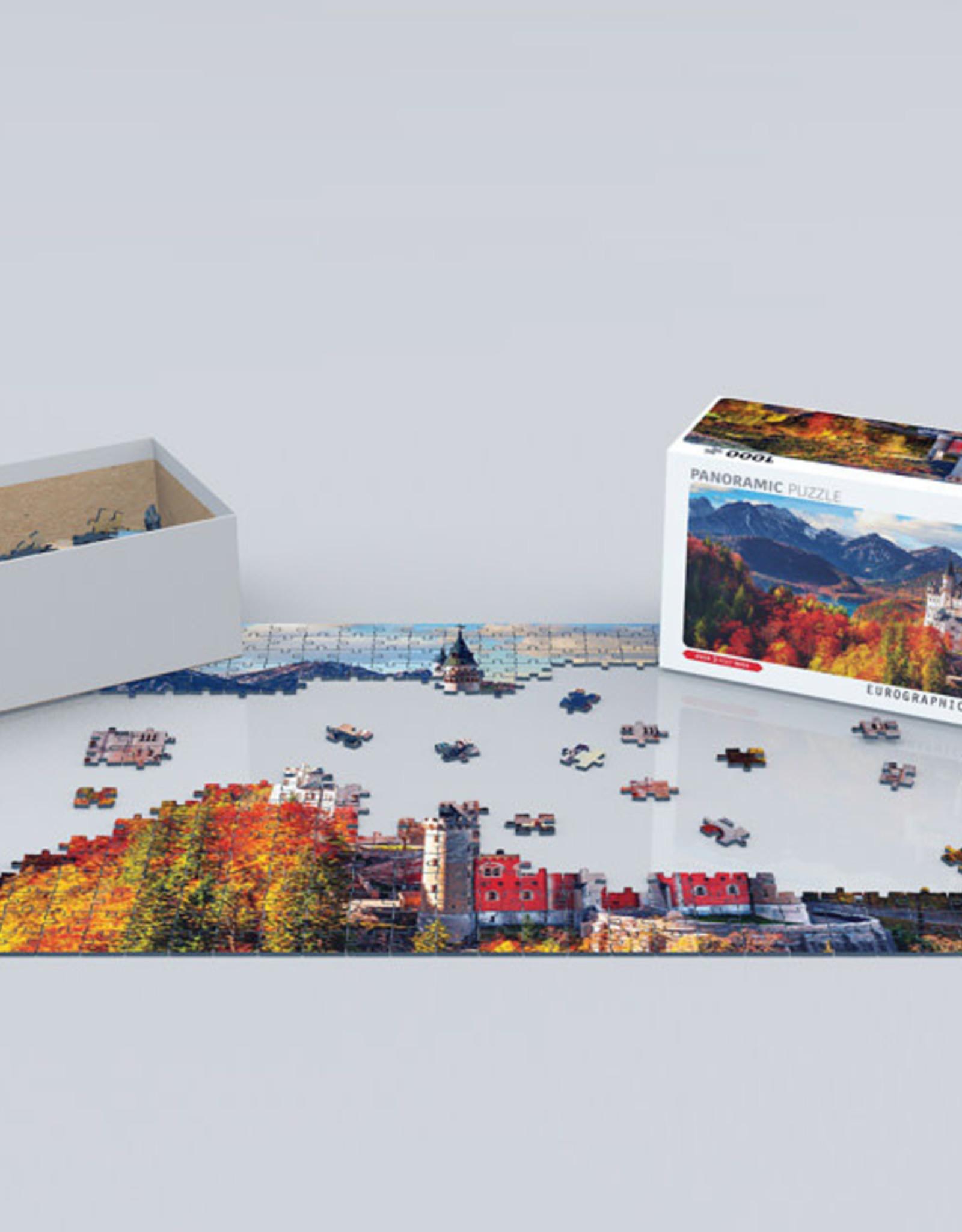 Eurographics Neuschwanstein Castle in fall 1000 PCS Panorama