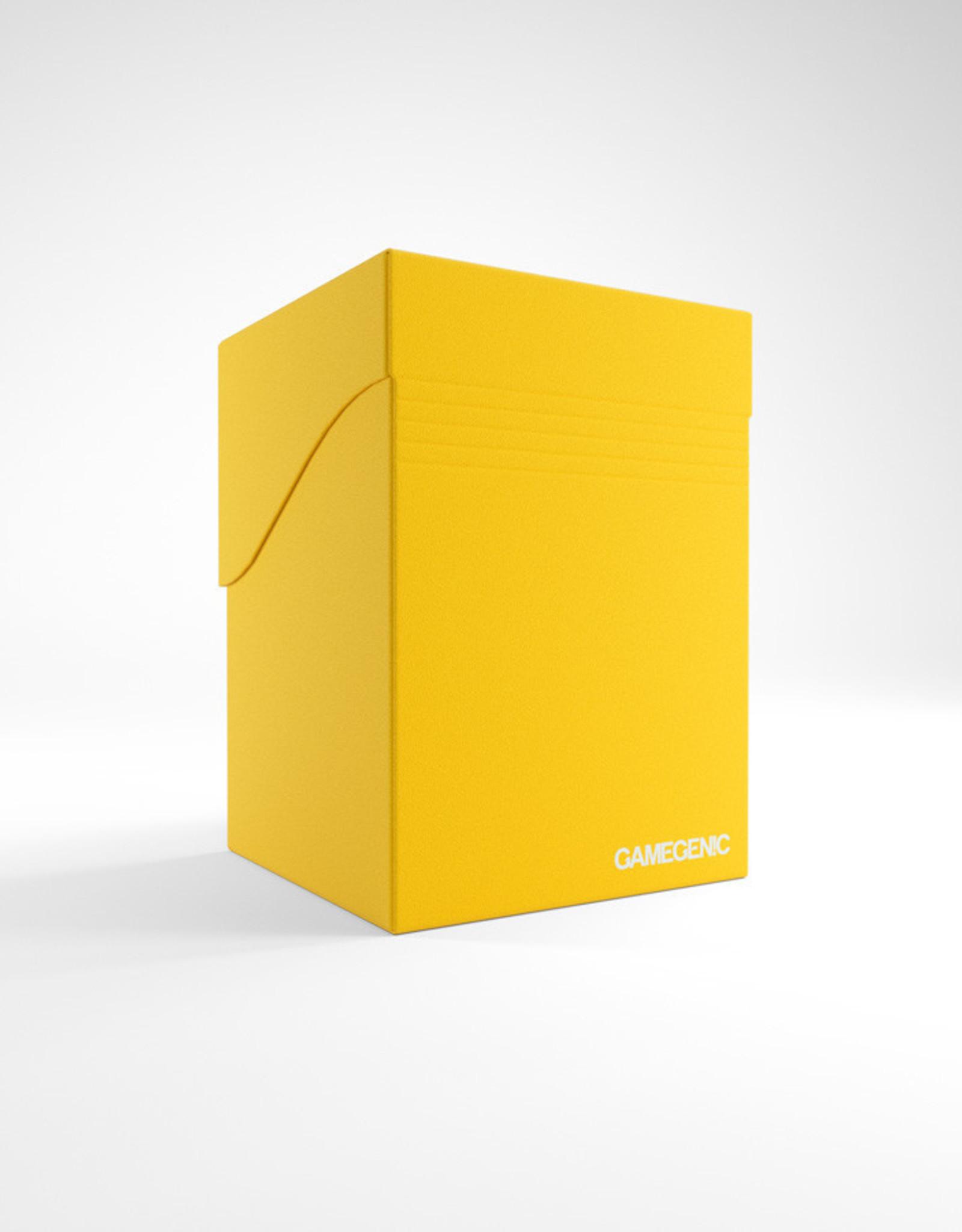 Deck Box: Deck Holder 100+ Yellow