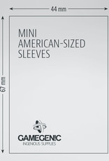 Matte Board Game Sleeves: Mini American (50) (Yellow)