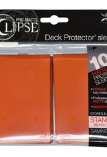Deck Protectors: Pro-Matte Eclipse (100) Orange