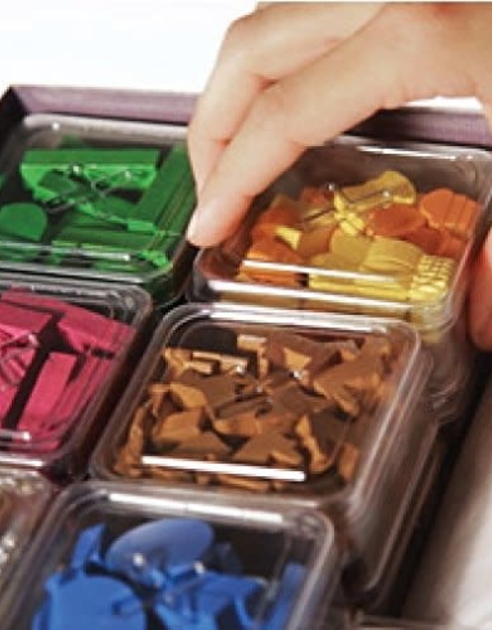 DV Giochi Geekbox Clear Plastic Token Storage Box/Lid (3 pk)