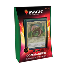 Wizards of the Coast MTG Ikoria Commander Deck: Enhanced Evolution