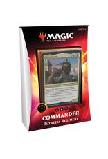 Wizards of the Coast MTG Commander 2020 Deck (Ruthless Regiment)