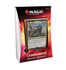 Wizards of the Coast MTG Ikoria Commander Deck: Ruthless Regiment