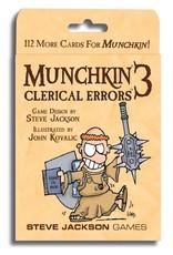 Steve Jackson Games Munchkin 3 Clerical Errors Expansion