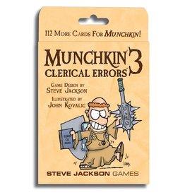 Steve Jackson Games Munchkin: Munchkin 3 - Clerical Errors Expansion