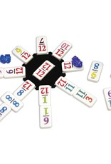 University Games Mexican Train Dominoes To-Go