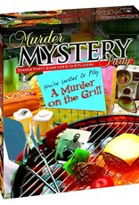 University Games Murder Mystery: A Murder on the Grill
