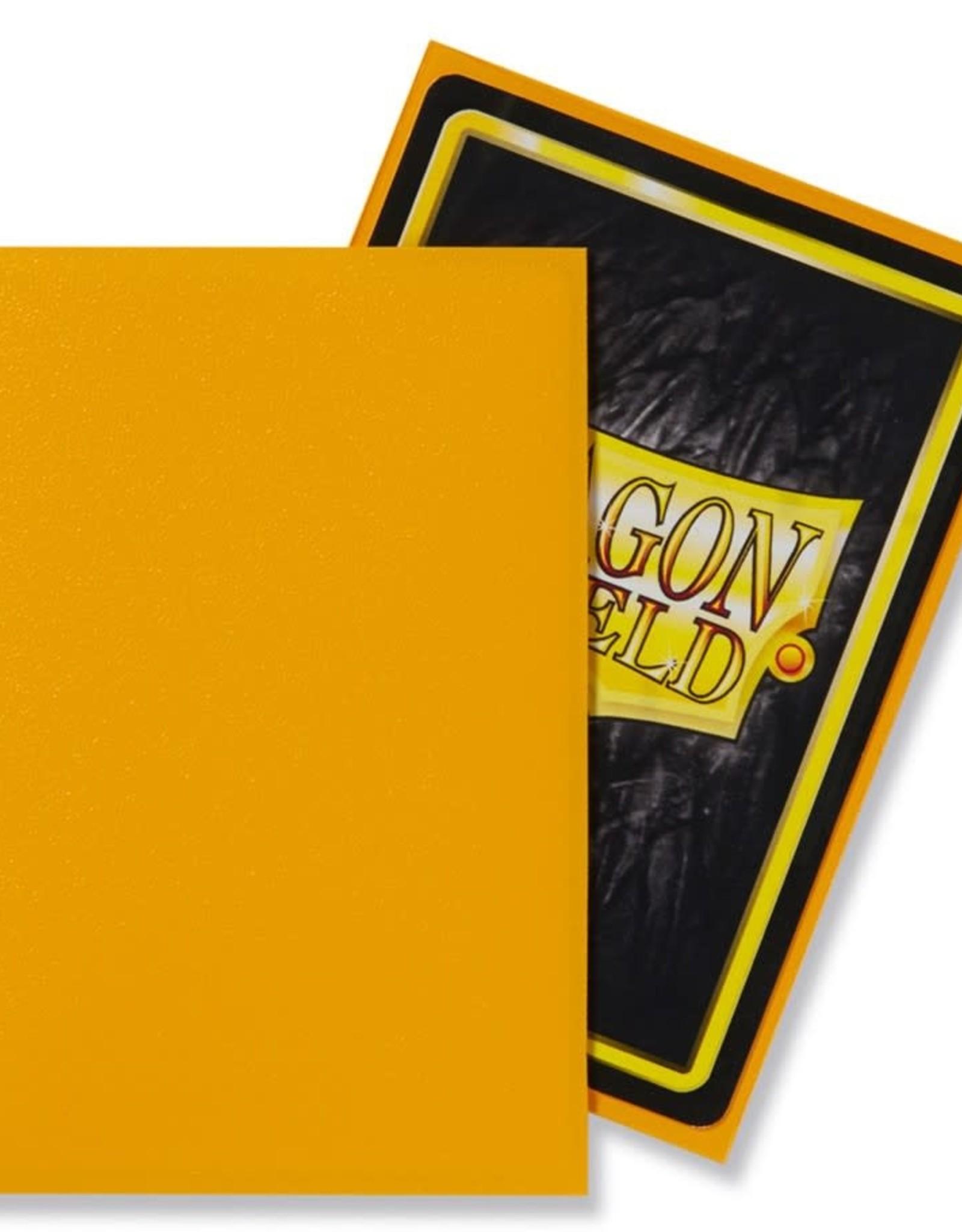 Arcane Tinmen Sleeves: Dragon Shield Matte (100) Yellow