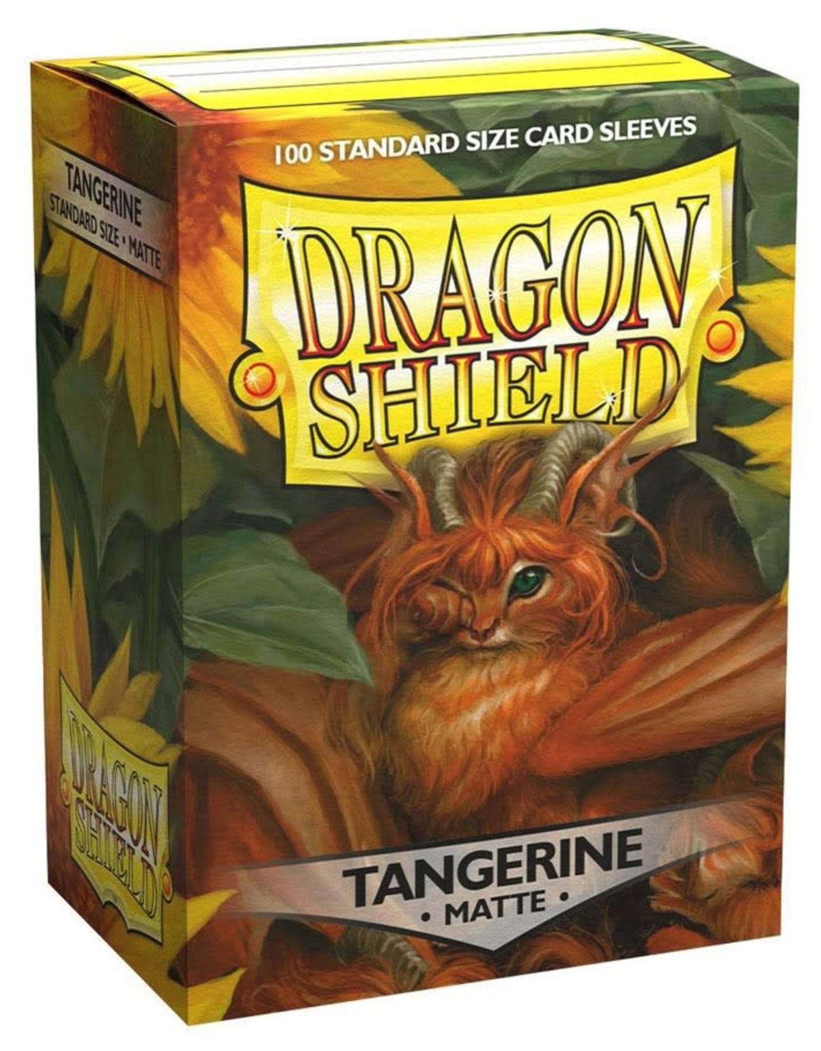 Arcane Tinmen Deck Protectors: Dragon Shield Matte Tangerine (100)