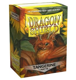 Arcane Tinmen Sleeves: Dragon Shield Matte (100) Tangerine