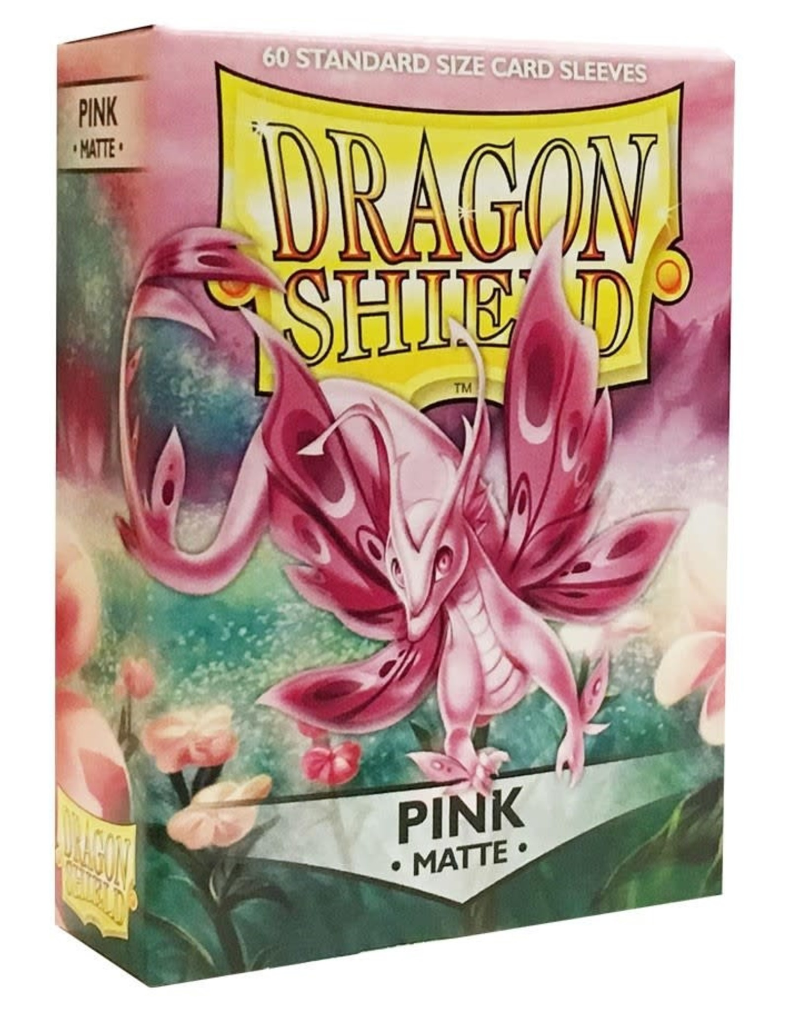 Arcane Tinmen Deck Protectors: Dragon Shield Matte (60) Pink