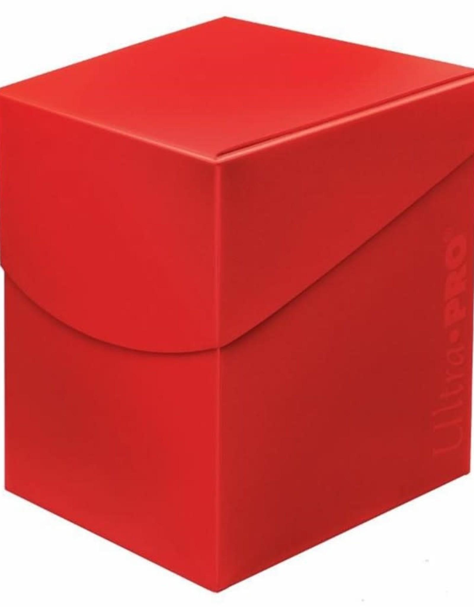 Deck Box: Eclipse 100+ Red