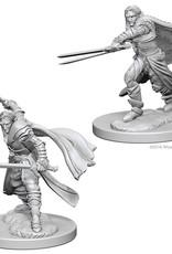 Wizkids D&D Unpainted Minis: Elf Ranger Male